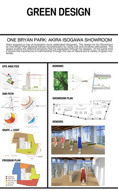 One Bryant Park: Akira Isogawa Showroom