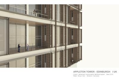 Appleton Tower - Edinburgh UK