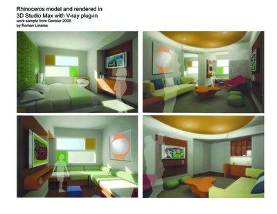 08' Gensler- Interior work