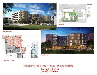 University of La Verne Student Housing / Dining Building