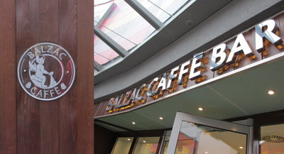 Balzac Caffé - Graphics, Signage & Signature Items