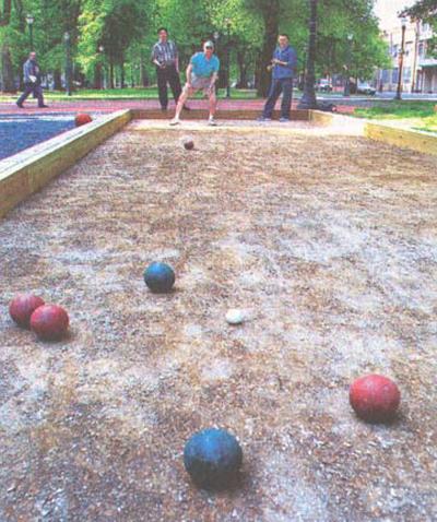 North Park Blocks Bocce Courts