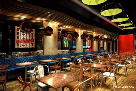 Architectural 3d, Interior 3D, Space planning, 3D rendering of a new restaurant design. www.spacialists.com
