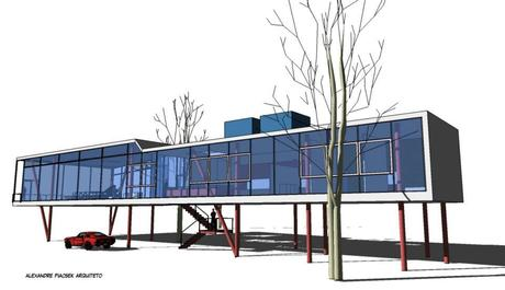 MOdern House project