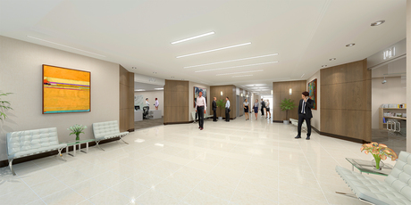 Office Building Lobby | Miami, Florida