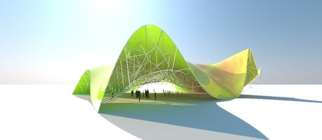 SPACE FRAME[FOLLOW SURFACE] - #6 GRASSHOPPER (DOWNLOAD)