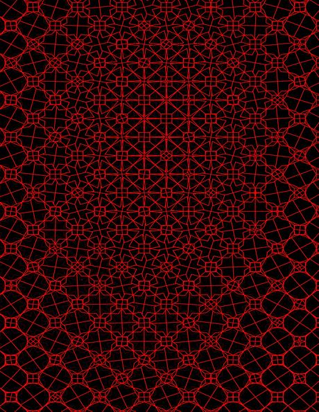 variable geometric pattern study
