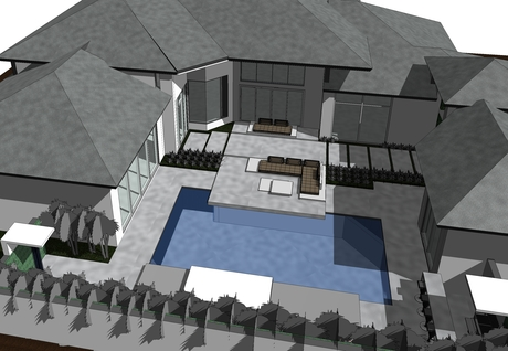 Residential Courtyard Project - Boca Raton