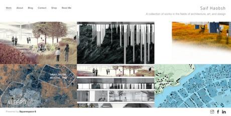 working on my website of design work... haobsh.com -