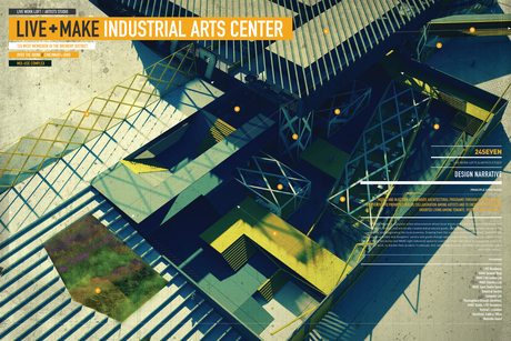LIVE_MAKE Industria Arts Center Competition Entry