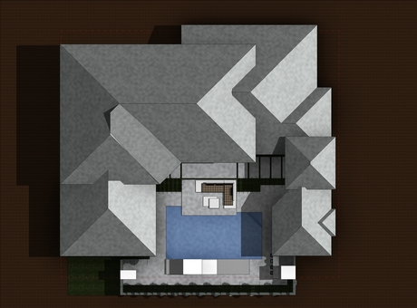 Courtyard - Top View