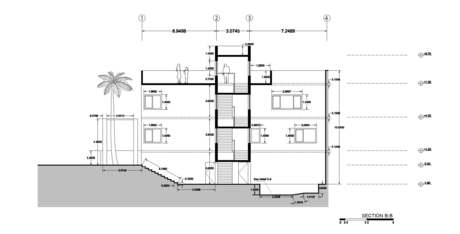 House in Erbil, Iraq | Cross Section