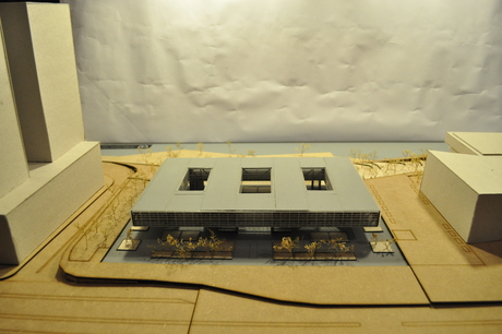One more image of th UN Environmental Council model for the Archiprix.NL pre-selection.
