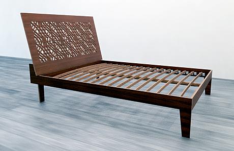 Noah Walker's prototype bed hijacked!
