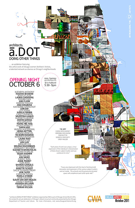 ...a.DOT Poster . . . just finished 1 of a series (a collaboration between Mindy Viamontes and Myself)