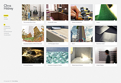 added a couple more projects to portfolio site.