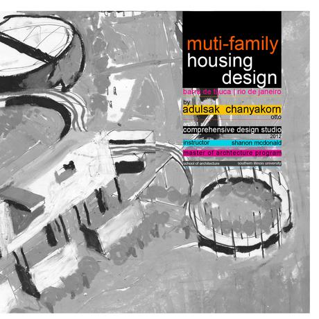 Housing Design   Post Olympic   Rio De Janeiro