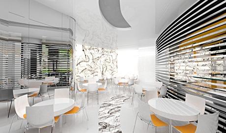 3d modeling and rendering - Hugo Cafe