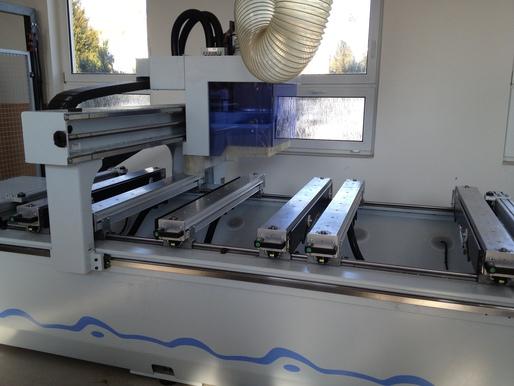 CNC machine at CZU