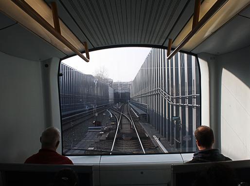 Copenhagen's underground metro
