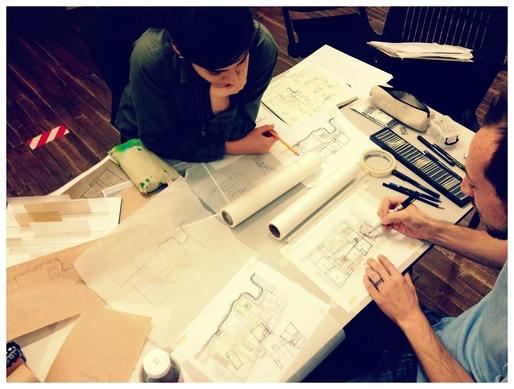Drawing together: Marcela Trejo & Brian Pickard