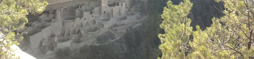 Cliff Palace from the mesa top