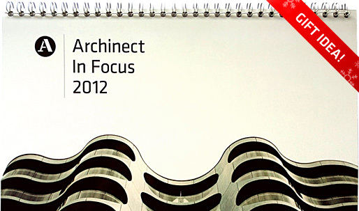 Archinect's Last Minute Gift Guide - 2012 Archinect Calendar and T-Shirts!