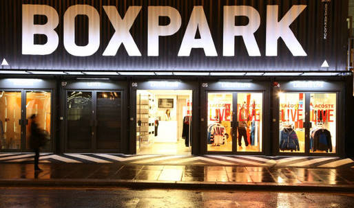 Shipping containers used for first 'pop-up' shopping mall