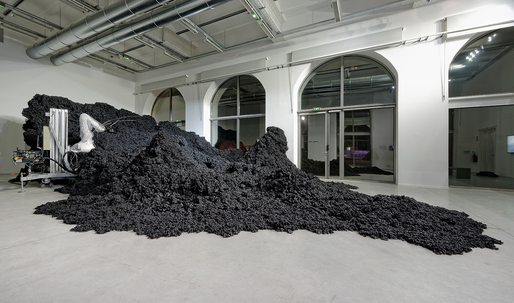 """New-Territories projects forward in its """"retrospective"""" at the FRAC Centre in Val de Loire, France"""