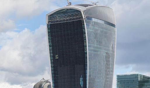 Walkie Talkie Tower summons the elements again — this time it's wind!