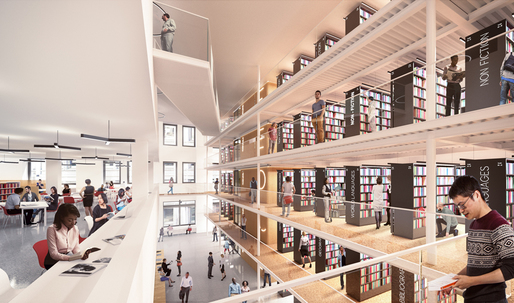 NYPL reveals first image for its $200M Mid-Manhattan Library renovation