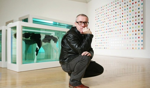 Damien Hirst's gallery development draws closer to completition