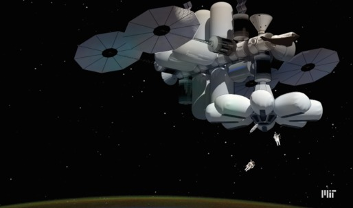 MIT team wins NASA challenge to design luxury hotel in low Earth orbit