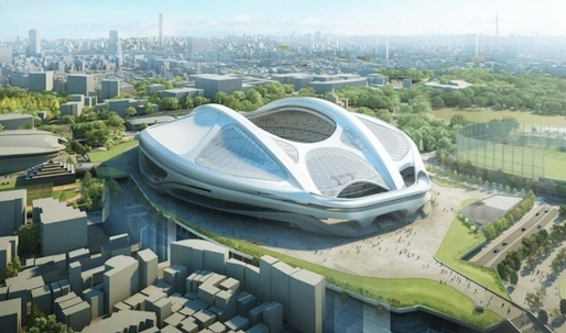 Zaha's Tokyo Olympic Stadium cancelled –Abe calls for a redesign from scratch