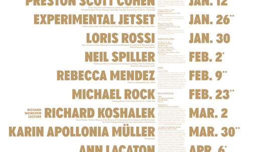 Get Lectured: UCLA, 2014-15