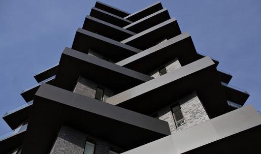 The optical illusion behind Copenhagen's Bryggeblomsten residential tower