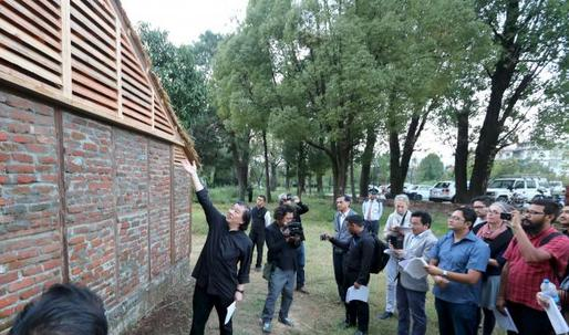 """Shigeru Ban builds earthquake-proof homes in Nepal: """"I'm encouraging people to copy my ideas. No copyrights."""""""