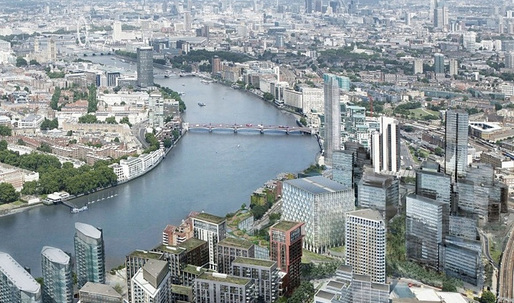 Would you cross these bridges? Check out a few Nine Elms to Pimlico Bridge entries for London's River Thames