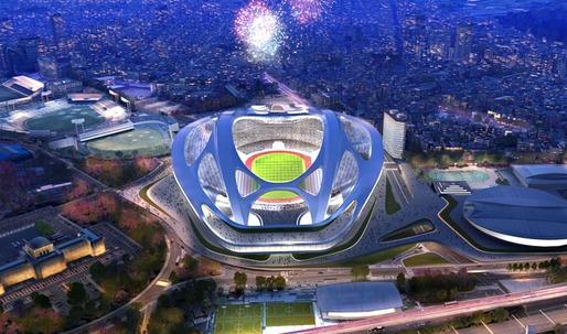 Hadid and Japanese at loggerheads over 'turtle-like' Olympic stadium