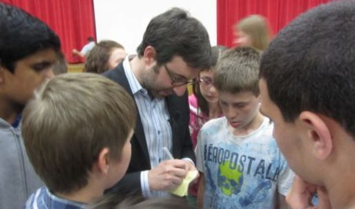 Build It Bigger host Danny Forster takes middle school students around the world