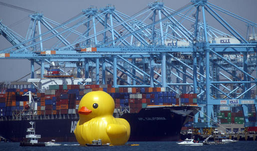 Rubber Duckie, you make globalization so much fun