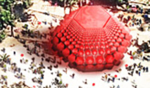 Grenade - Winner of the Pfff Inflatable Architecture Competition