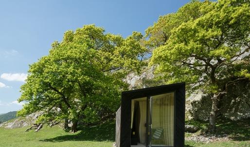 Miller Kendrick Architects complete Welsh pop-up hotel