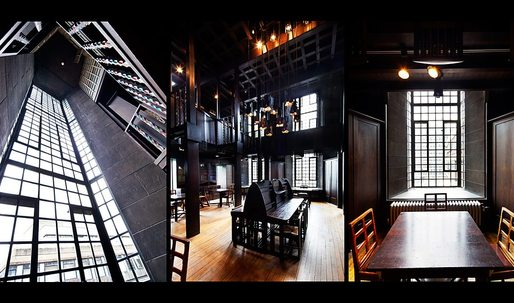 Mackintosh Library: restore or create anew?