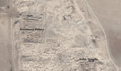 ISIS believed to have bulldozed 2,900-year-old Assyrian ziggurat in Nimrud, Iraq