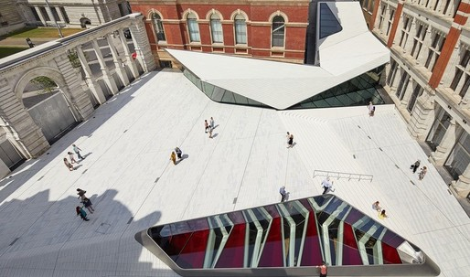 V&A Museum addition includes $70M all-porcelain public courtyard