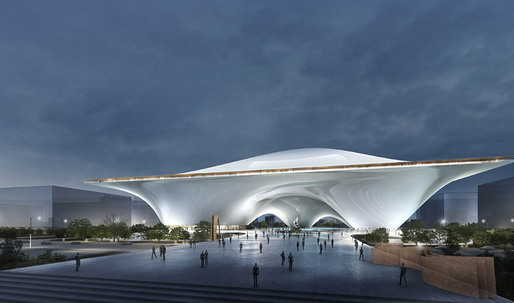 National Art Museum of China Entry by MAD