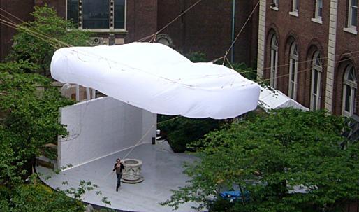 Columbia University GSAPP and SOA Unveil Temporary/Contemporary Pavilion – BOB