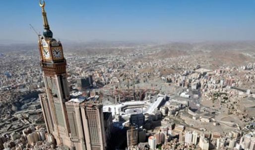 Mecca's mega architecture casts shadow over hajj