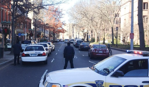 Gunman reported on Yale's Old Campus